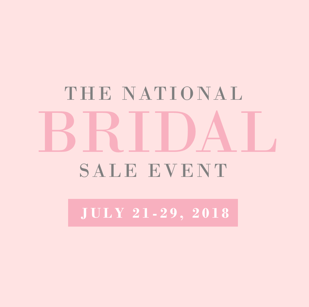 Third Annual National Bridal Sale Event